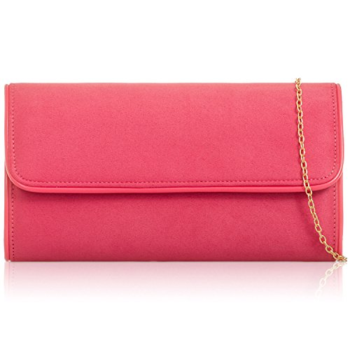 Ladies Clutch Women London Bag Prom Peach Evening Leather Xardi Long Suede Baguette Party Girl Faux qCwT8nHx