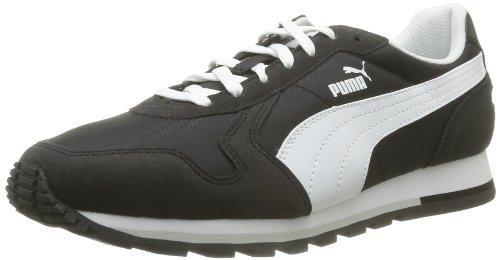 homme St Noir black Puma Schwarz Runner mode 03 white Baskets w7fwnxqCI