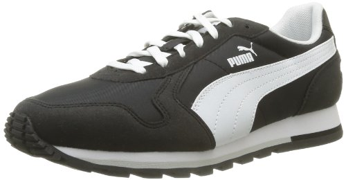 Puma St Baskets mode homme black Noir white Runner 03 Schwarz C7wxqrfCg