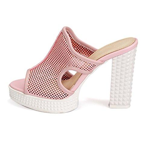 Donna sulla Aperte Caviglia UH Pink w7tPx6nq