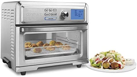 Cuisinart TOA-65 Digital Convection Toaster Oven Airfryer, Silver
