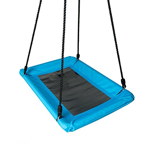 Rainbow Outdoor Swing Set Seat with Rope Green - 6