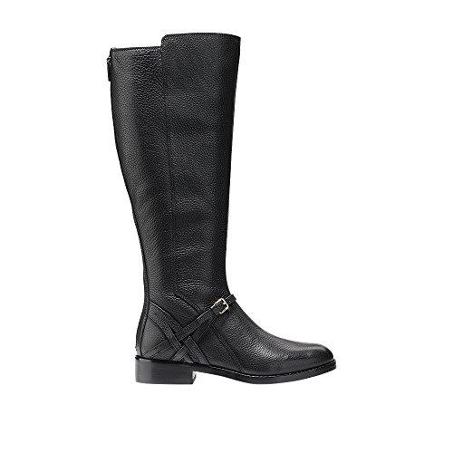 Cole Haan Femmes Pearlie Boot Prolongé Veau En Cuir Noir