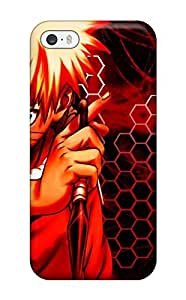 Iphone 5/5s Case Cover - Slim Fit Tpu Protector Shock Absorbent Case (naruto Character)