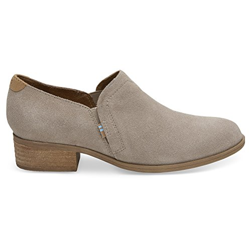 - TOMS Desert Taupe Suede Women's Shaye Booties 10012287 (Size: 7.5)