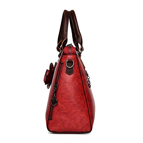 femme bandoulière en Sac main Black Sac Large cuir à pour GAOLIXIA Collection à Bag Shoulder Catwalk 7nOxzwgqw4