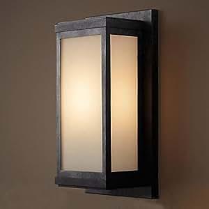 American Outdoor Wall Lamp Waterproof, Garden Wall Lamp Courtyard Lamp Balcony Lamp Outdoor Wall Lamp Villa Door Light