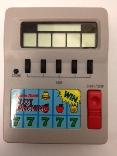 Radio Shack - Slot Machine - Handheld Game