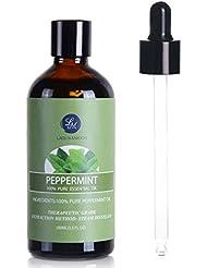 Peppermint Essential Oil,Premium Therapeutic Aromatherapy Oil,100ML
