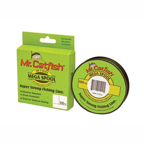 Mr Catfish Line Filler Spool, 500 yd/25 lb