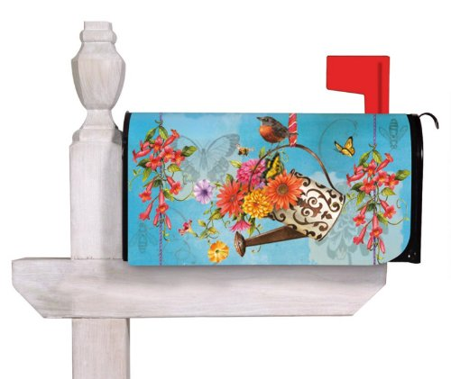 Flower Power Spring Magnetic Mailbox Cover