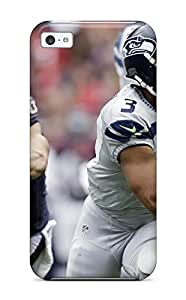 Premium Seattleeahawks Ouston Texans Heavy-duty Protection Case For Iphone 5c