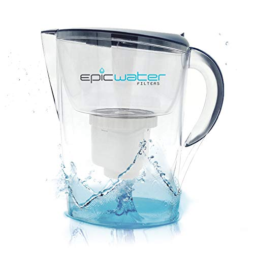 Epic Pure Water Filter Jug | Navy Blue | 3.5L | BPA-Free | Removes...