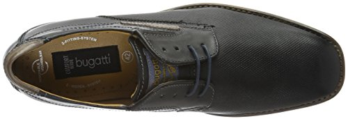 Bugatti loafer men's Black Bugatti men's Leather Leather loafer Black Exw0qpwa