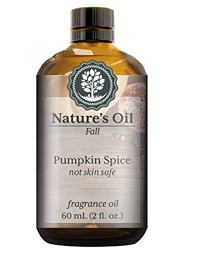 Pumpkin Spice Fragrance Oil (60ml) For Diffusers, Soap Making, Candles, Lotion, Home Scents, Linen Spray, Bath Bombs, (Brown Sugar Scrub Cranberry)