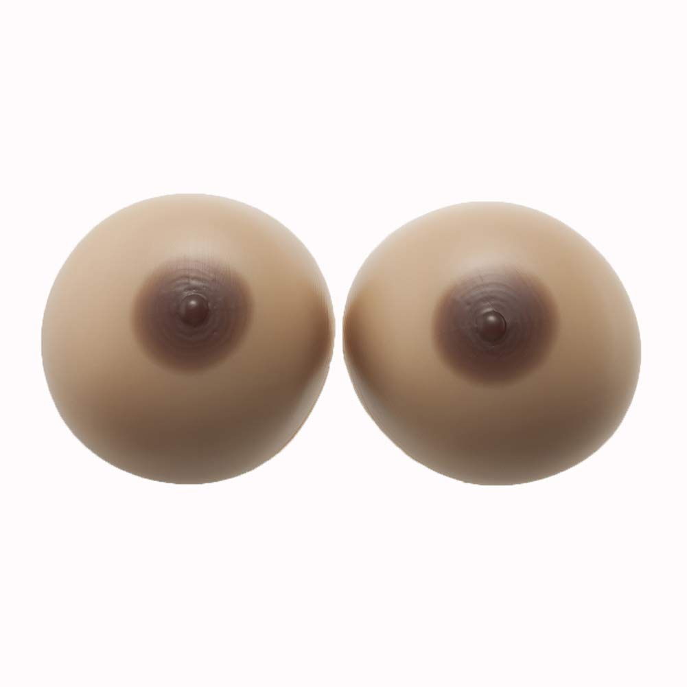 Bra Chest Pad Plus Silicone Breasts Artificial Fake Boobs False Predhesis SelfAdhesive Cup Lifelike Natural Nipples Breast Enhancement for Men Small Chest Women,4XL