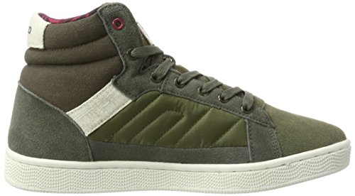 Pantofole Verde 20704293 Uomo Beetle Stivaletto a Blend Green HqX5Cw