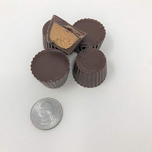 Asher's Sugar Free Mini Peanut Butter Cups Milk Chocolate Candy 1 pound