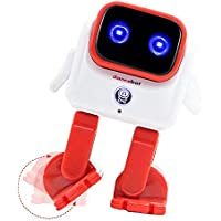 DanceBot Novelty Bluetooth 5W Wireless Portable Speaker Dancing Robot for Kids/Adults (Red)