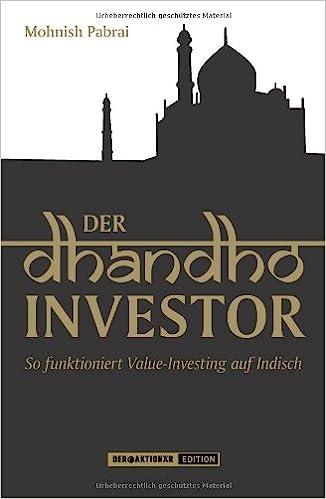 Mohnish Pabrai Book