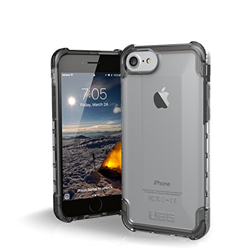 UAG iPhone 8 / iPhone 7 / iPhone 6s [4.7-inch screen] Plyo Feather-Light Rugged [ICE] Military Drop Tested iPhone Case