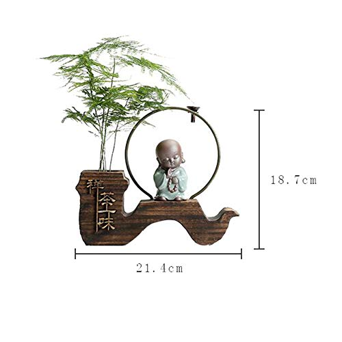Incense Burner Backflow Environmentally Friendly Wood (conical) for Home Decoration by Incense Burner (Image #2)