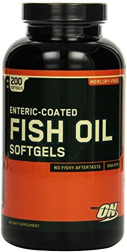Optimum Nutrition Fischöl  200 Softgelkapseln, 1er Pack (1 x 260 g)