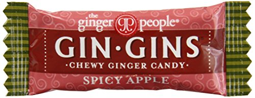 Gin Gins - The Ginger People Spicy Apple Ginger Chews, 11-Pound Bag