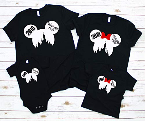 Disney Castle Shirt, Princess Castle, Prince Castle, 2019 Disney Personalized Custom Family Shirt, Mickey and Minnie Shirt, 2019 Disney Trip
