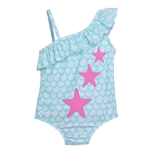 Flap Happy Girls UPF 50 Arielle Ruffle Swimsuit