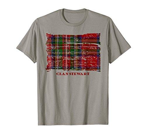 Stewart Clan tartan t-shirt ()