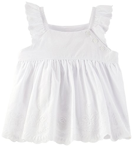 Eyelet Baby Doll Top - 1