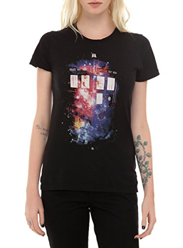 Doctor Who Galaxy TARDIS Girls T-Shirt 2XL (Hot Topic Doctor Who)