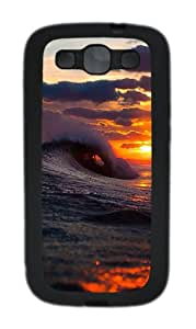 Samsung Galaxy S3 I9300 Cases & Covers Cool Surf Wave Sunset Custom TPU Soft Case Cover Protector for Samsung Galaxy S3 I9300 Black