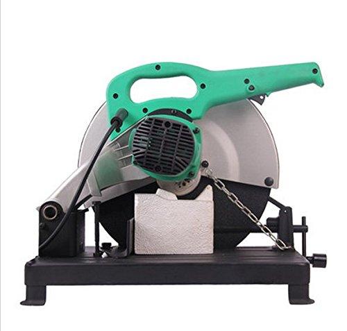 GOWE Chop Saw 355mm Cut Off Saw 2300w Dry Metal Saw 355mm Electric Saw For Metal Electric Circular (355mm Chop Saw)