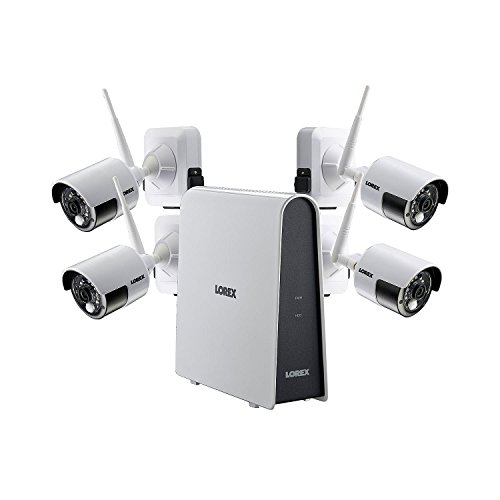 Lorex 4 Camera 1080p HD Wire-Free Security System, 6 Channel DVR, 16GB HDD