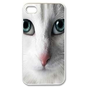 Hard Shell Iphone 4/4s hard Case Of Cat ,Customized Bumper Plastic case