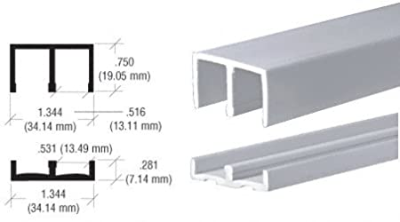 Amazon.com: CRL Plastic Track and Upper Guide for 1/2