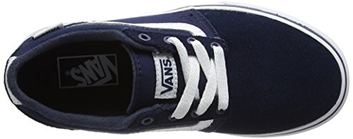 Vans Chapman Stripe, Zapatillas Unisex Niños Azul (Suede/canvas)