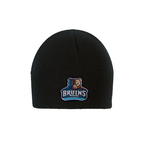 Bob Jones University Black Knit Beanie 'Official Logo' (Jones Hat)