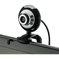 USB 12 Megapixel Camera Web Cam w/ Mic Night Vision for Desktop Pc Laptop Skype