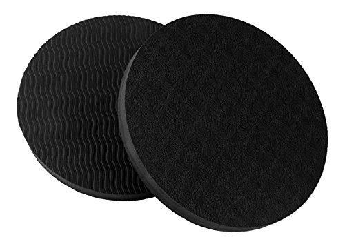 GoYonder Eco Yoga Workout Knee Pad Cushion Black
