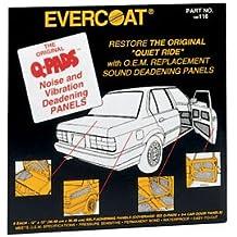 Fibreglass Evercoat (FIB116) Q-Pads Sound Deadener 12 x 12 6/pk