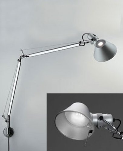 Tolomeo Classic Led (Tolomeo classic LED wall sconce - 110 - 125V (for use in the U.S., Canada etc.), J bracket)