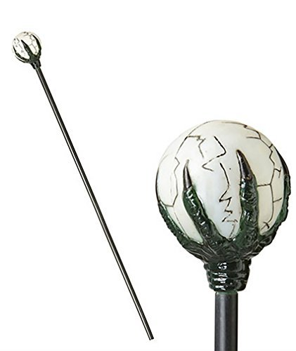 Maleficent Cane Staff Walking Stick Orb Claw Clasp Prop Disney Sleeping Beauty by Card and Party Store