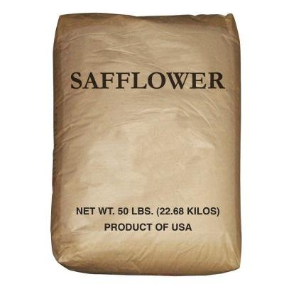 50 Lb. Bulk Bag Wagner's Safflower Wild Bird Food Seed Attracts Cardinals, Chickadees, Titmice, Doves, Woodpeckers and Grosbeaks. High Quality Birdseed for Your Backyard Birdfeeder Discourages Squirrels (Best Bird Seed To Attract Cardinals)