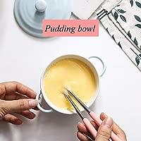LiRongPing Huevos cocidos al Vapor de diseño binaural Azul | Tazón ...