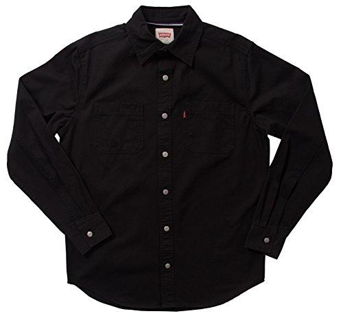 Levi's Classic Denim Workshirt - Black, 3XL