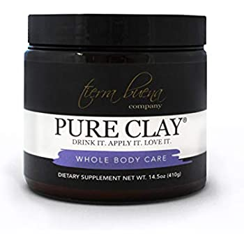 Pure Clay – Premium Calcium Bentonite Clay Food Grade (Montmorillonite) Powder - Laboratory Tested for Purity - Internal Detox and Cleanse - Mask, Body Wrap and Bath