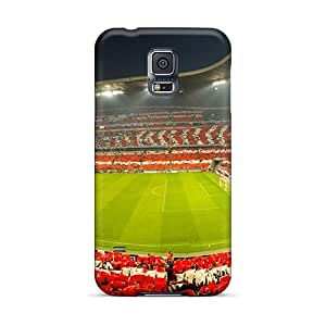 Hot New Champions League Semifinal Bayern Munich Vs Lyon Case Cover For Galaxy S5 With Perfect Design